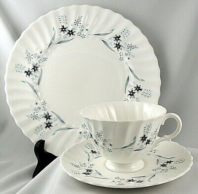 Wonderful Royal Doulton MILLEFLEUR ~ Trio ~ Dinner Plate - Cup & Saucer Set