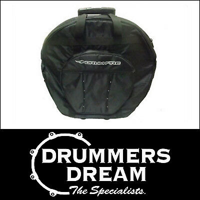 "DRUMFIRE PRO LEVEL 22"" CYMBAL BAG With Wheels HEAVY DUTY!"