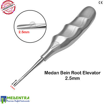 Ergonomic Dental Root Elevators Medan Bein Bean Elevator 2.5mm Dental VET Tools