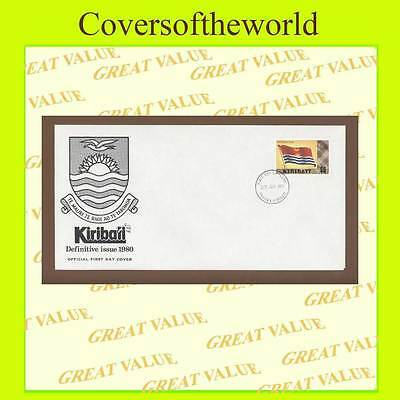Kiribati 1980 $5 Flag issue First Day Cover