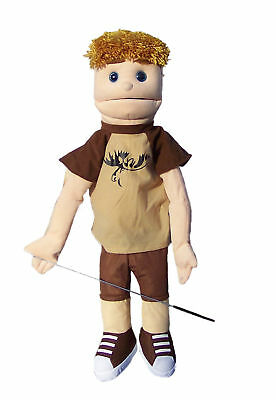 """Professional 28"""" Dual Entry Vent Full/half Body Puppets Danny"""