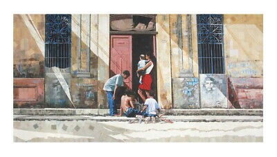 Dwight Baird-Children of the Caribbean-2005 Giclee-SIGNED