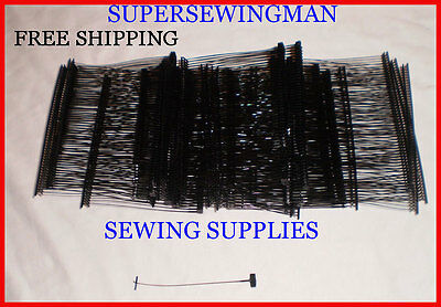 "New 1000 Pcs. Black Standard Price Tag Tagging Tagger 3"" Barbs Fasteners"