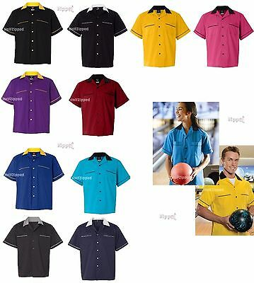 Hilton Apparel GM Legend Bowling Shirt HP2244 S-3XL NEW Mens or Womens