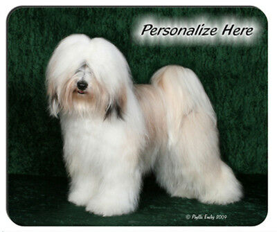 Tibetan  Terrier  ( 2 )   Personalized  Mouse Pad