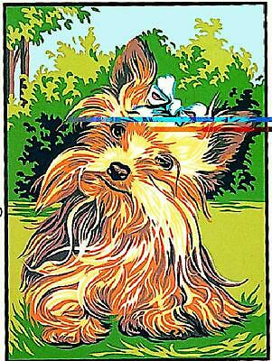 Margot de Paris Tapestry/Needlepoint Canvas – Yorkshire Terrier