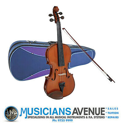 STENTOR STUDENT 1 VIOLIN + CASE + BOW (All Sizes)