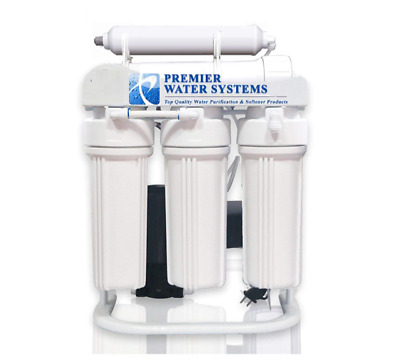 LIGHT commercial  Reverse Osmosis Alkaline filter 200 GPD pump 14 gallon tank