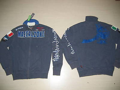 0533 Mascalzone Latino Kappa Tg. S Felpa Eroi Destroyer Jacket Audi Team