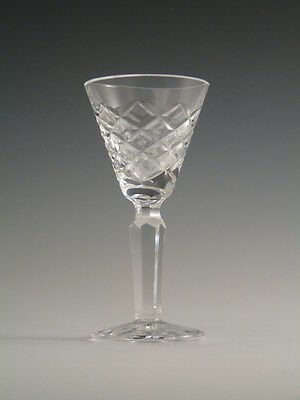 """WATERFORD Crystal - TYRONE Cut - Liqueur Glass / Glasses - 3 7/8"""""""