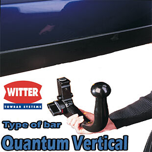 Witter Towbar for Mercedes C-Class Saloon (W204) 2007-2014 - Detachable Tow Bar