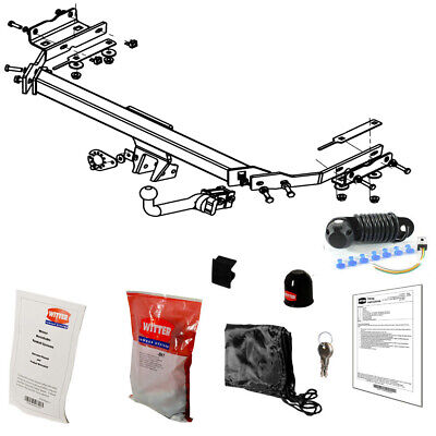 Witter Towbar for Nissan Juke 2WD 2010 On - Detachable Tow Bar