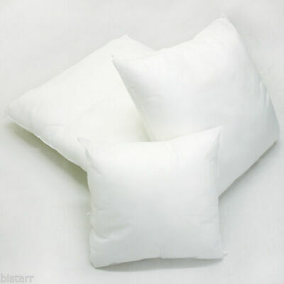 """Cushion Pads 16 18 20 22 24 26 30""""  Hollow Fibre Inners Inserts Fillers Scatters"""