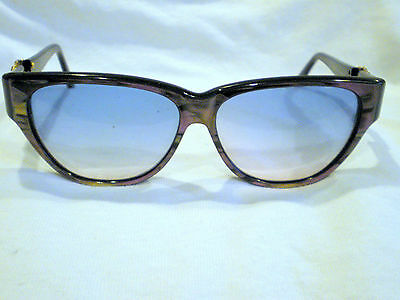 Vintage Authentic Claudia Carlotti Mod.giovanna Sunglasses Hand Made In France
