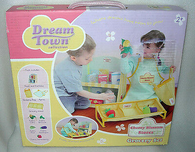 DreamTown Cherry Blossom Stores Grocery Playset - NIDB