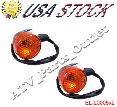 2 * Turn Signal Light 50cc 150cc Moped Scooter Rear GY6 12V Motorcycle Chinese