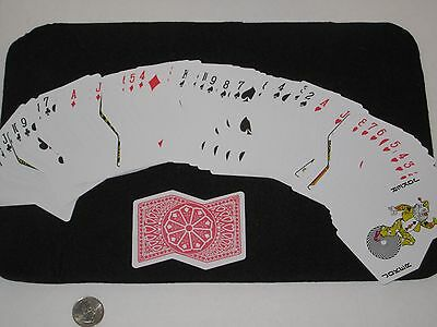 Red Backed Crooked Playing Cards - Joke, Funny Cards, Gag, Magic Trick, Prank,