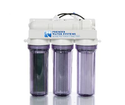 Reverse Osmosis Ro/di Reef Aquarium  Water Filter 4 Stage Made In Usa Ultra Pure