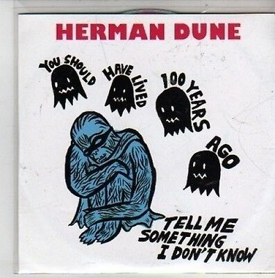 (CG506) Herman Dune, Tell Me Something I Don't Know - 2011 DJ CD