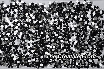 1440 Crystals - Flat Foiled Backed - Black - New Packaged