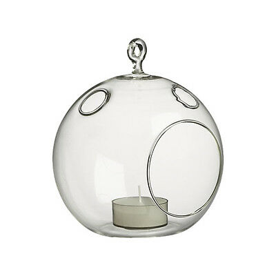 Clear 4 5 Inches Air Plant Terrarium Glass Orb Hanging Globe Candle
