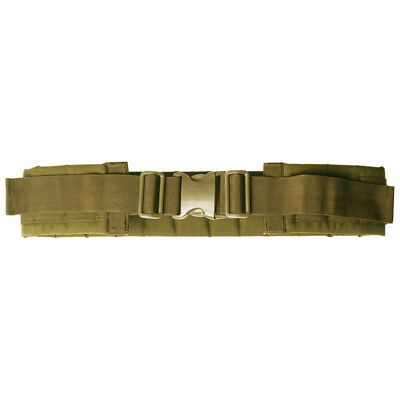 Tactical Waist Belt Panel Modular Combat System Molle Webbing Airsoft Coyote Tan