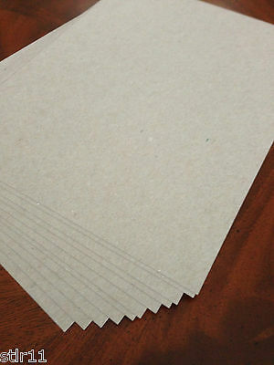 Chipboard  - 100 sheets - * GREAT for SHIPPING * 8.5 x 11   .022 Mil.