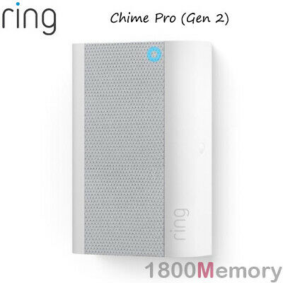 Ring Chime Pro Wireless Indoor Chime + Wi-Fi Extender for Ring Devices Door Dell