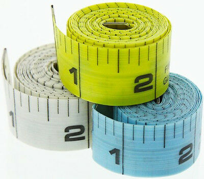 "New 60"" 150cm Soft Fabric Cloth Tape Measure Ruler Dual Sided SAE & Metric #MT9R"