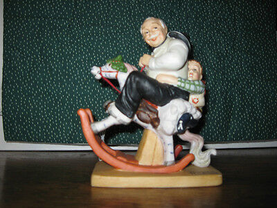 Grandpa At The Reins - NORMAN ROCKWELL Figurine