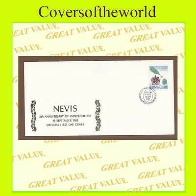 Nevis 1988 5th anniversary of Independence First Day Cover