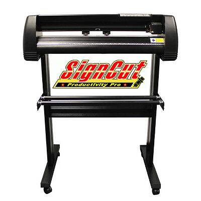 Vinyl Plotter Cutter Mh721 + Signcut Pro 28Inch Optical Eye Economical Plotter