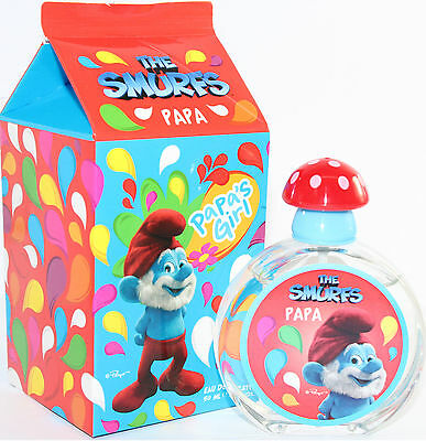 The Smurfs Papa 1.7 Oz Edt Sprya For Kid's By Smurfs New In A Box
