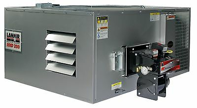 Waste Oil Heater/Furnace Lanair MXD200 DUCTABLE with tank and chimney kit SALE!!