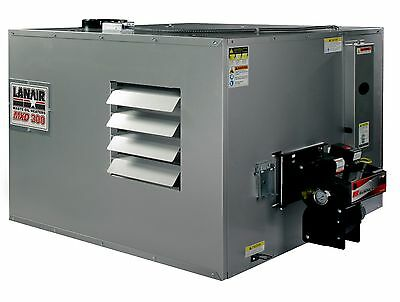 Waste Oil Heater/Furnace Lanair MXD300 DUCTABLE with tank and chimney kit SALE!!