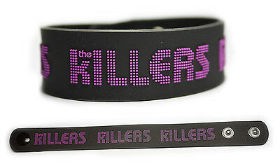 THE KILLERS Rubber Bracelet Wristband Hot Fuss Sam's Town Day & Age Battle Born