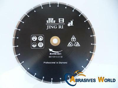 "16""  (400Mm) High Quality Diamond Cutting Blade For Concrete, Granite And Bricks"