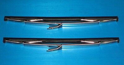 Jaguar Mk2 Wiper Blades Genuine TEX. NEW (Pair) 2.4 3.4 3.8 240 340