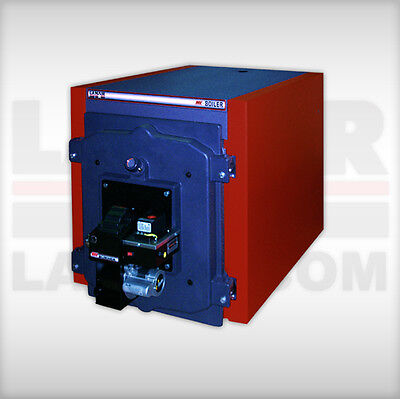 Waste oil fired boiler/heater Lanair MXB-400 cast iron/water heater/ cheap heat!