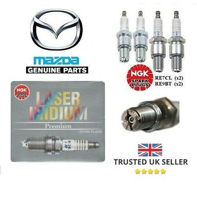Ngk Spark Plugs - Mazda Rx8 Leading & Trailing (Re7C-L & Re9B-T)