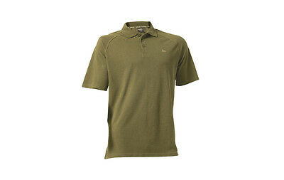 Trakker NEW Olive Green Carp Fishing Polo Shirt *All Sizes Available*