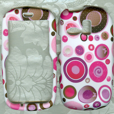 do butterfly rubberized Samsung Freeform SCH-R350 Faceplate Snap-on Phone Cover