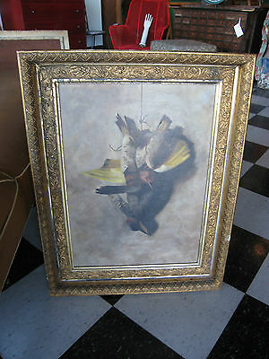 Antique Late 19th Early 20th Century American School Oil on Canvas Painting