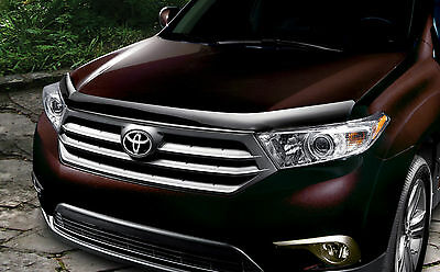 Toyota Highlander 2011 2012 2013 Hood Protector Air Bug Genuine OE OEM