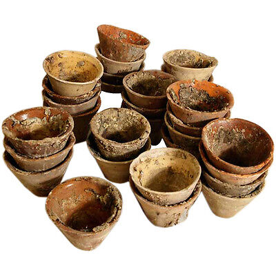 French terra cotta resin pots / priced individually