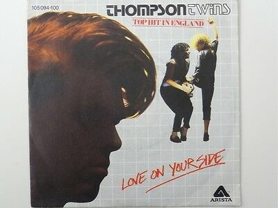 "Thompson Twins - Love On Your Side  7"" Vinyl Single"