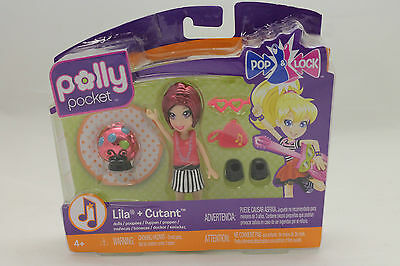 POLLY POCKET Puppen & Cutants, Lila 4181h