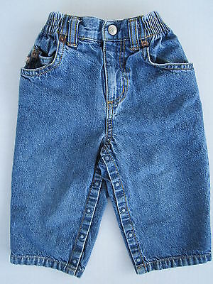 VGC Greendog 12-18m Denim Blue Jeans Toddler Boys Girls Childrens Kids Newborn