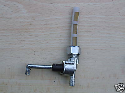 Italian Style Standard  Flow Fuel Tap. Suitable For Lambretta Scooters