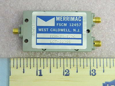 Merrimac PDM-23-1.7G SMA RF Power Divider Frequency 1.0 to 2.5 GHz